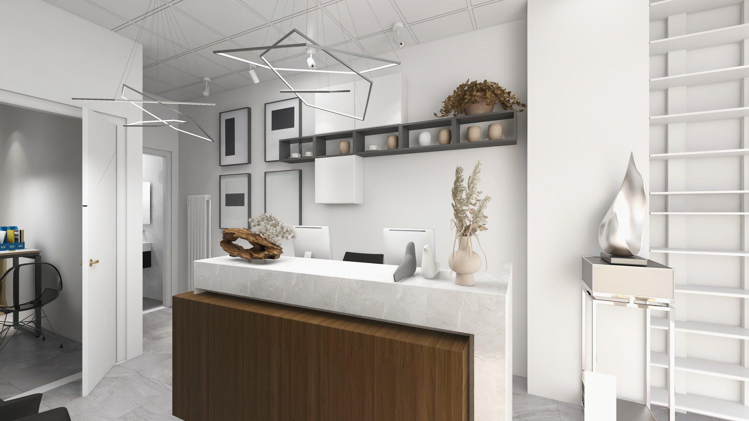 Receptie showroom aparatura medicala